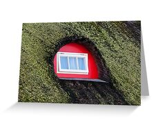 Green-Red Greeting Card