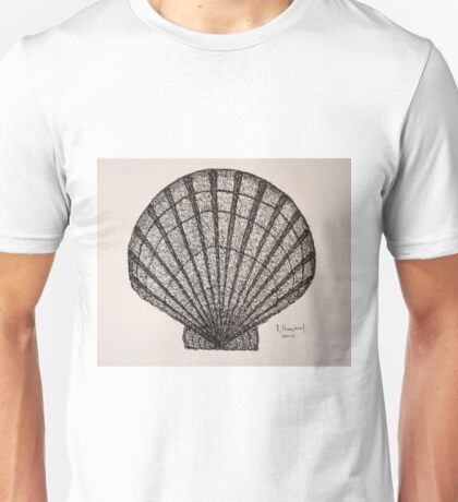 SEASIDE ALIVE - SCALLOP SHELL Unisex T-Shirt
