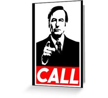 CALL Greeting Card