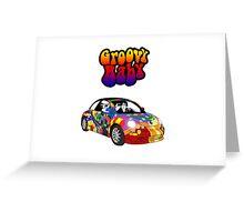 Austin Powers Volkswagen Greeting Card
