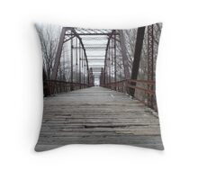 Historic Bridge Throw Pillow