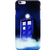 Tardis Blue in Cloud iPhone Case/Skin