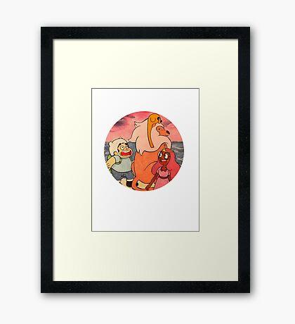 Adventure Steven Framed Print