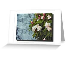 Down by the waterside.. Greeting Card