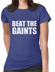 LA DODGERS - BEAT THE GIANTS Womens Fitted T-Shirt