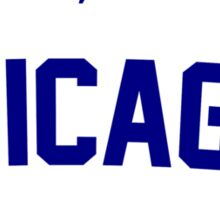 Hey, Hey! Chicago Cubs 2015 Sticker