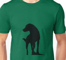 Shadow dog. Unisex T-Shirt