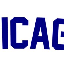 Holy Cow! Chicago Cubs 2015 Sticker