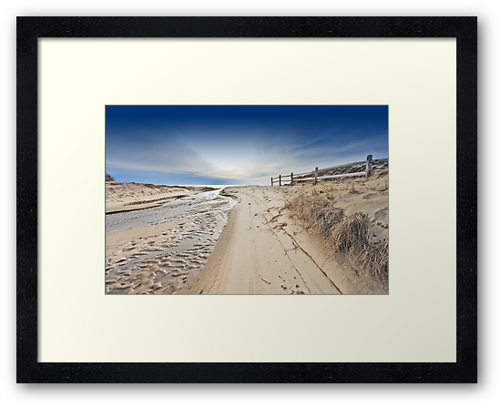 Nauset Indians Beach by capecodart