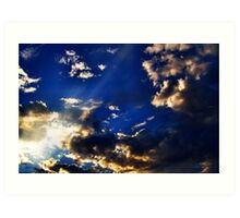 Heavens Light Art Print