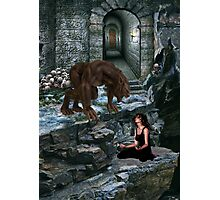 Werewolf and the Maiden Photographic Print