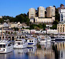 Evening at Torquay Harbour by rodsfotos