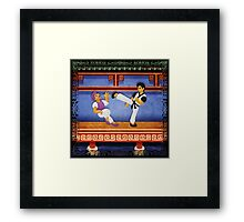 kungfu Framed Print