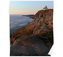 Chasing the Light at Cape Spear Poster