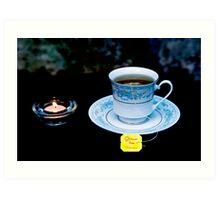 Light Tea  Art Print