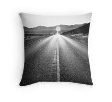 Lonely Road Throw Pillow