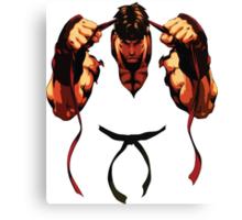 Ryu - First Round Canvas Print