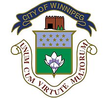 Winnipeg Coat of Arms  Photographic Print
