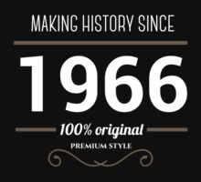Making history since 1966 by JJFarquitectos