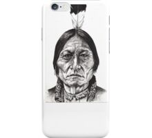 Chief Sitting Bull iPhone Case/Skin