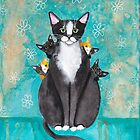 Mother's Day Portrait with Kittens by Ryan Conners