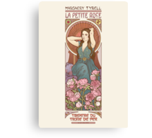 The little rose Canvas Print