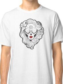 Vecta Skull Girl 2 Classic T-Shirt