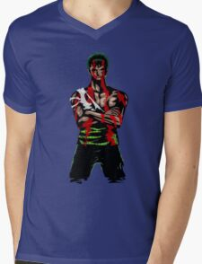 Zoro Tough Mens V-Neck T-Shirt