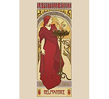 The Red Priestess Photographic Print