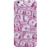 a dolla makes me holla (pink vers) iPhone Case/Skin