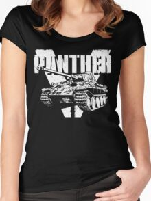 Panther Tank Women's Fitted Scoop T-Shirt