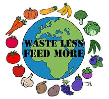 Waste Less, Feed More by JZanderK
