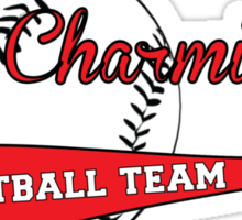 The Charmings Softball Team Sticker