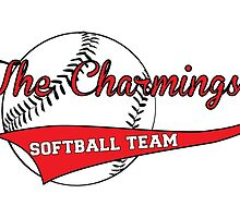 The Charmings Softball Team by sultrysweet
