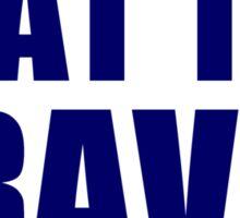 Washington Nationals - BEAT THE BRAVES Sticker