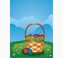 Easter Basket on Lawn 2 Unisex T-Shirt