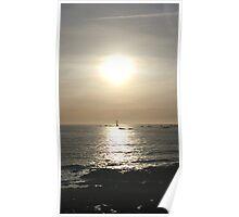 Pleinmont Sunset Poster