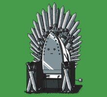 The REAL Iron Throne by rockhead