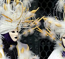 Venice - Carnival  Mask Series 01 by paolo1955