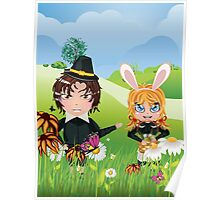 Easter Boy and Girl 3 Poster