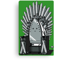 The REAL Iron Throne Canvas Print