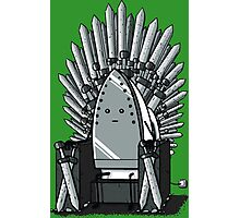 The REAL Iron Throne Photographic Print