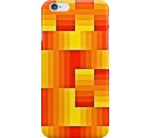 abstract square background iPhone Case/Skin