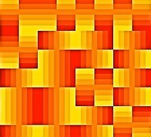 abstract square background by bobstudio