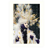 Venice - Carnival  Mask Series 02 Art Print