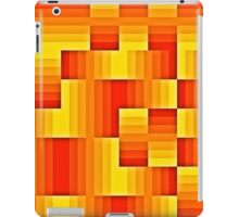 abstract square background iPad Case/Skin
