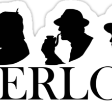 The Generations of Sherlock Holmes Sticker