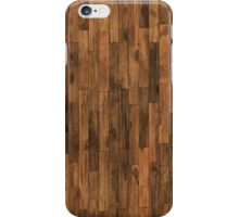 wooden texture background iPhone Case/Skin
