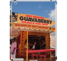 Guavaberry colada and rum shop in St Maarten iPad Case/Skin