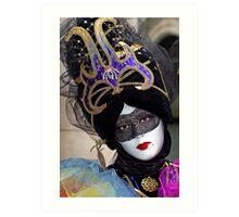 Venice - Carnival  Mask Series 05 Art Print